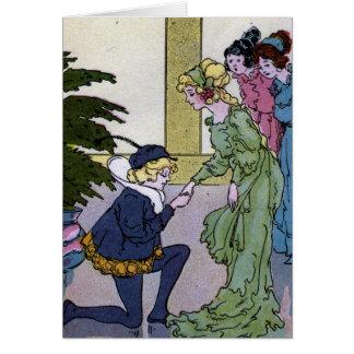 Aschenputtel und der Prinz Karte