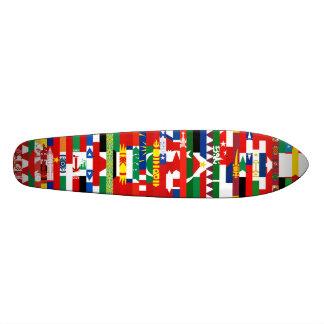 Asiat kennzeichnet Skateboard Bedruckte Skateboarddecks