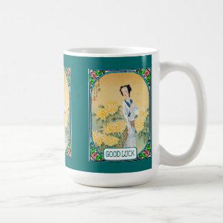 Asiatische Dame Tasse