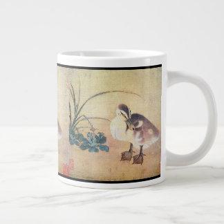 Asiatische Entlein-Enten-Vogel-Tier-tierische Jumbo-Tasse