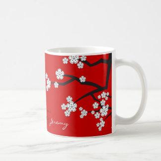 Asiatische Hochzeits-Tasse weißer Tasse
