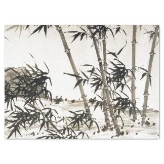 Asiatischer Bambus verlässt Chang chinesisches Seidenpapier