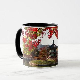 Asiatischer Garten Tasse