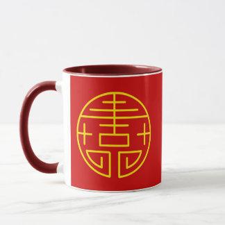 Asiatischer Zenentwurf Tasse