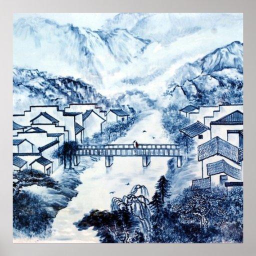 asiatisches Design Poster