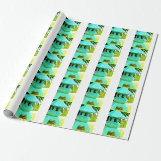 Asiatisches Geschenkpapier