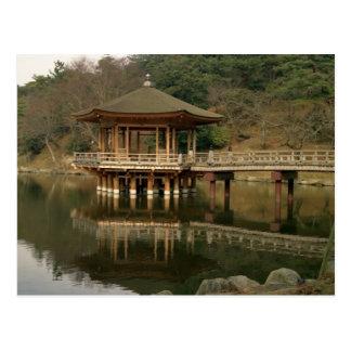 Asien, Japan, Nara, Tempel in Nara Postkarte