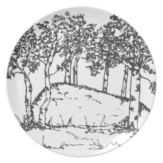Aspen-Waldung Teller
