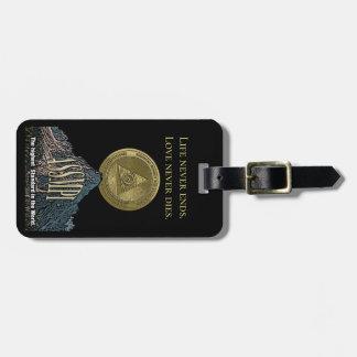 ASSMPI Gepäckanhänger mit Visitenkarte-Schlitz