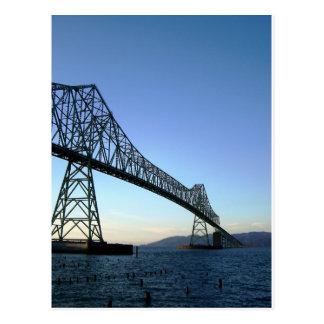 Astoria Brücke Postkarte