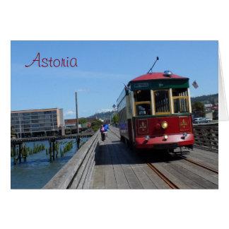 Astoria Flussufer-Laufkatze Karte