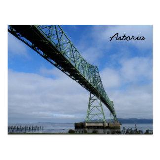 Astoria-Megler Brücke, Oregon Postkarte