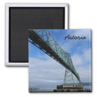 Astoria-Megler Brücke, Oregon Quadratischer Magnet