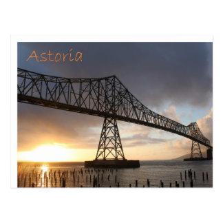 Astoria-Megler Brücke Postkarte