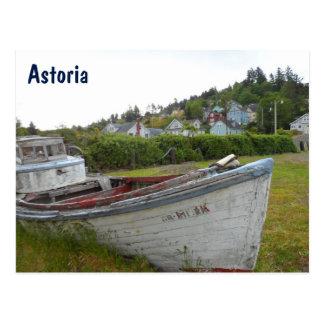 Astoria, Oregon Postkarte