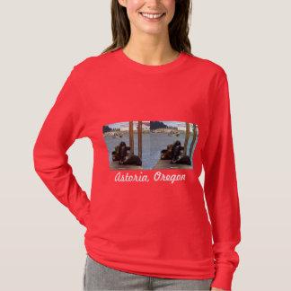 Astoria Oregon Seelöwen T-Shirt