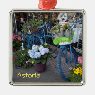 Astoria, Oregon Silbernes Ornament
