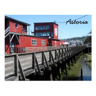 Astoria Riverwalk Postkarte