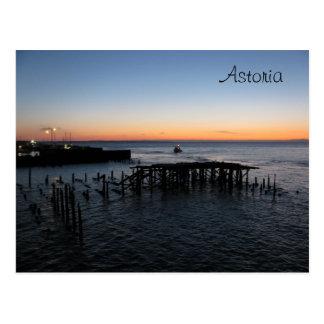 Astoria Sonnenuntergang Postkarte