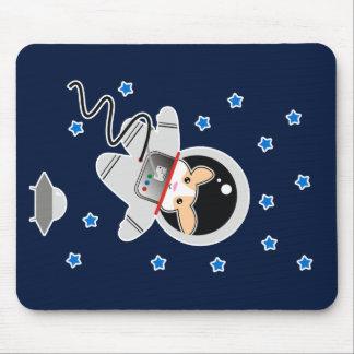 Astronauten-Hamster Mauspads