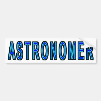 Astronom Autoaufkleber