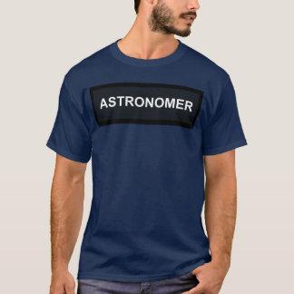 Astronom Flack T-Stück T-Shirt