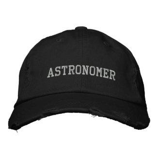 Astronom gestickter Hut