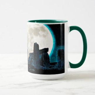 Astronomie Großbritannien des Celtic-Stonehenge, Tasse