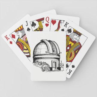 Astronomie-Observatorium Spielkarten