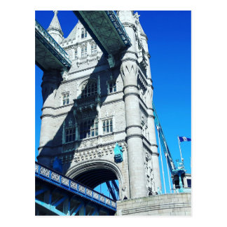 Atemberaubende London-Brücken-Postkarte Postkarte