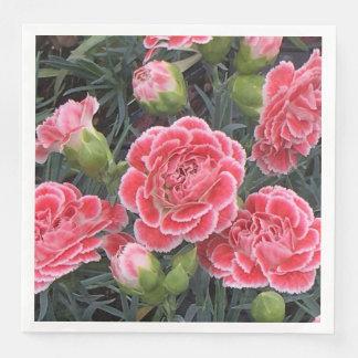 Atemberaubender Dianthus Papierservietten