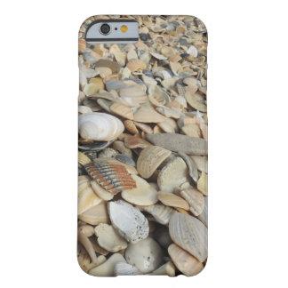 Atemberaubender Seashells-Kasten 6 oder 6s Barely There iPhone 6 Hülle
