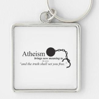 Atheismus holt neue Bedeutung Schlüsselanhänger