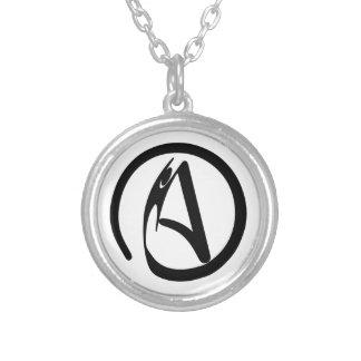 AtheistHumanist Halskette Mit Rundem Anhänger