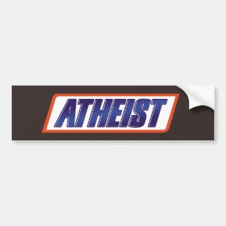 Atheistische Atheismus-Parodie Autoaufkleber
