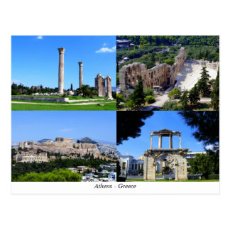 Athen - Griechenland Postkarte