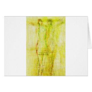 ätherischer Engel (23) Grußkarte