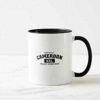 Athletische Abteilung Kameruns Tasse