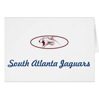 Atlanta-Parks und Erholungs-Südatlanta-Jaguare Karte
