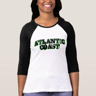 Atlantik-Küste frisch von Thostküste glücklichem T-Shirt
