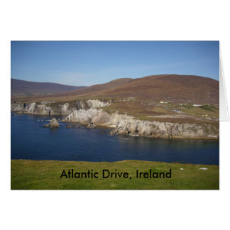 Atlantischer Antrieb, Achill Insel, Irland Grußkarte