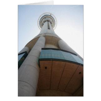 Auckland-Himmel-Turm Karte