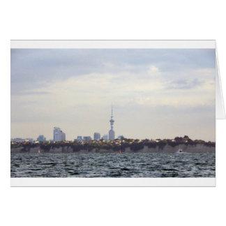 Auckland-Skyline Karte