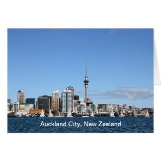 Auckland-Stadt, Neuseeland bis zum Tag Karte