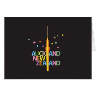 Auckland-Stadt Neuseeland Karte