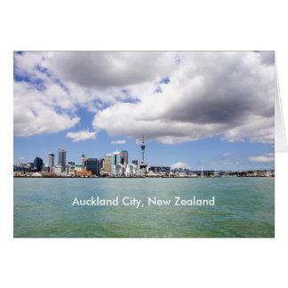 Auckland-Stadt, Neuseeland Karte