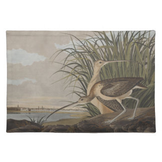 Audubon Lang-Berechnete Tisch Sets