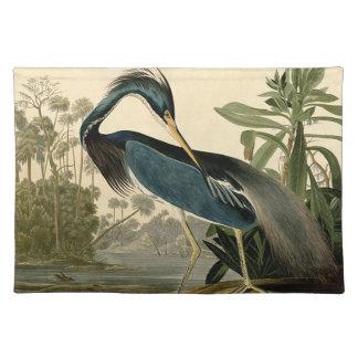Audubon Louisiana Reiher Tischset