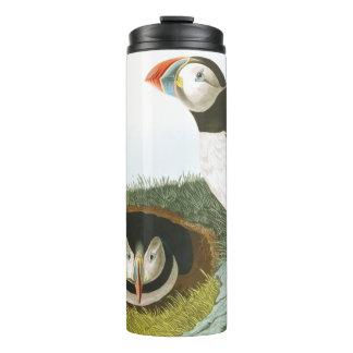 Audubon Papageientaucher-Vogel-Tier-Tier-Trommel Thermosbecher