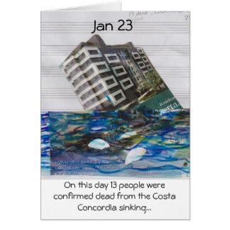 auf dieser Tagesam 23. Januar Karte